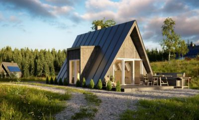Estonian home building company Avrame launches its A-frame building kits