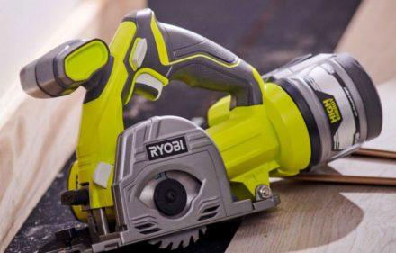 RYOBI Showcases 18V One+ Cordless Multi-Material Saw
