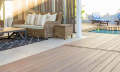 Fortress Apex PVC Decking Adheres to Wildfire Codes