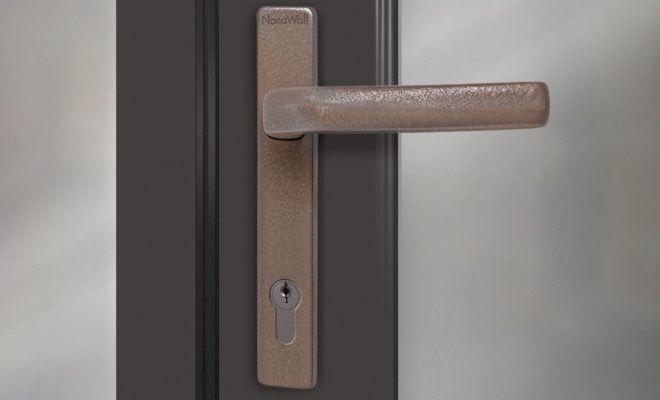 NanaWall Offers Copper Handle Alternatives for All Glass Wall Systems