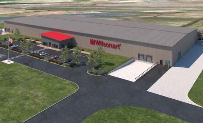 Wilsonart Engineered Surfaces new thermally fused laminate (TFL) facility