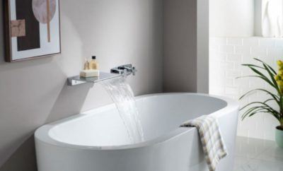 Isenberg Design Lab Waterfall-Style Tub Fillers