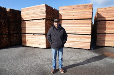 Yurok elder Joe Lindgren sold his environmentally friendly business to the Tribe
